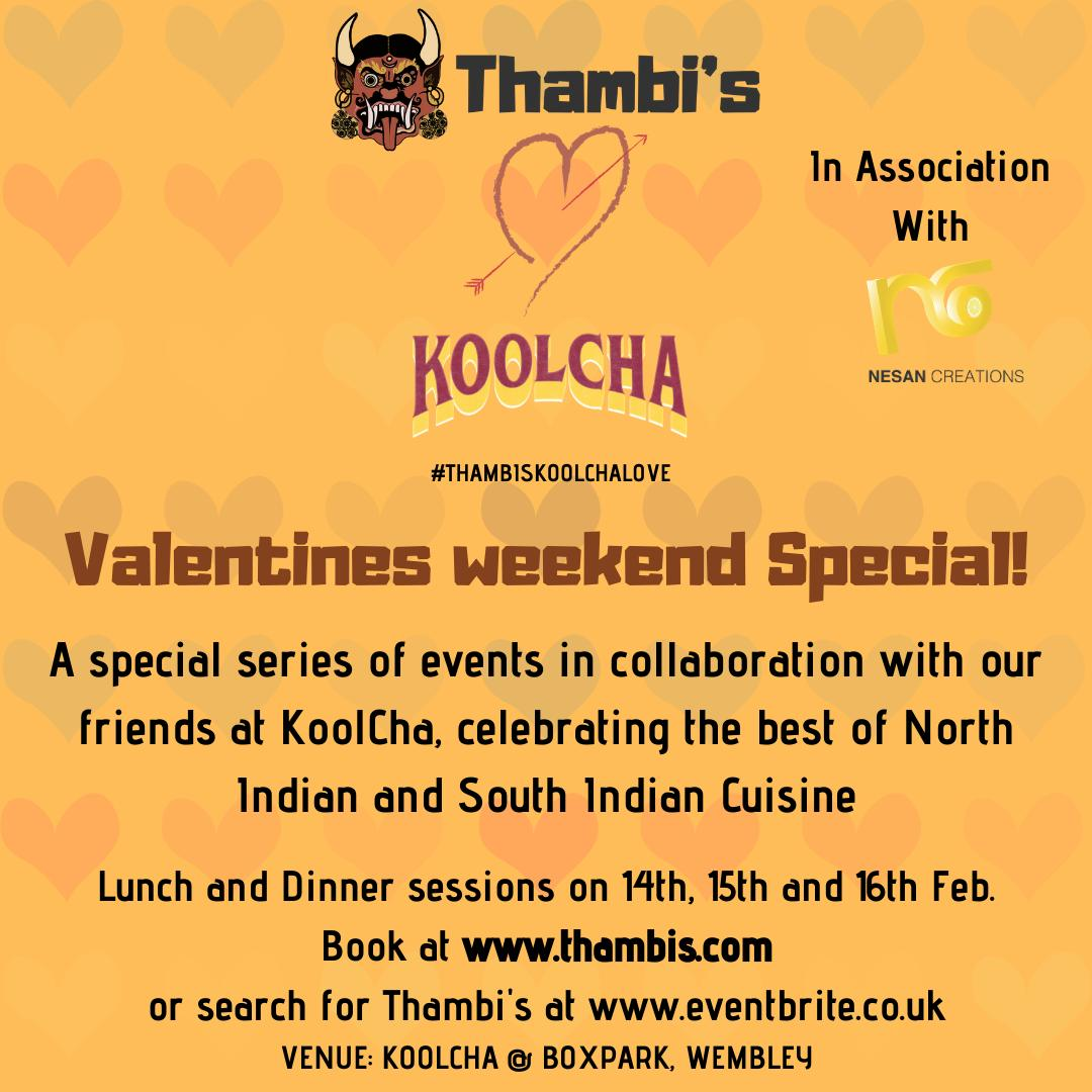 Thambis Koolcha 2nd Announcement